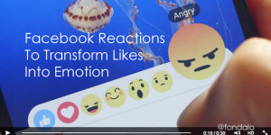 Facebook roles out a new like, dislike and reactions feature