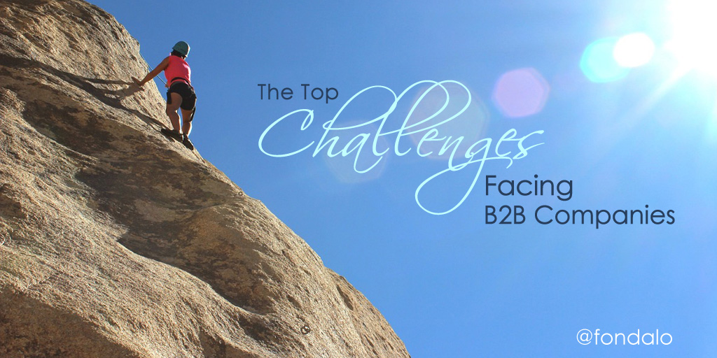The top challenges facing B2B companies