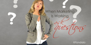 What to do when your digital marketing is working.