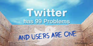 Twitter user growth is a big issue