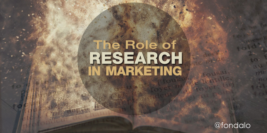 What is the role of research proposal in marketing research