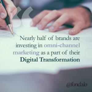 Digital Transformation using omni-channel marketing