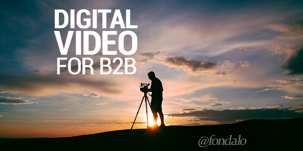 Digital video for B2B marketing becoming a priority for lead gen and lead quality