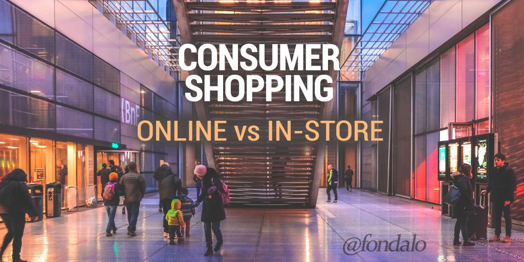 Online versus In-Store consumer shopping data