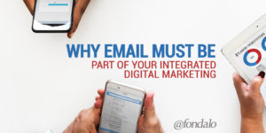 Email is a key component to online marketing
