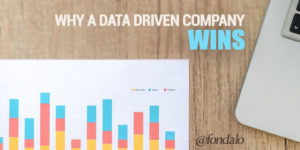 Why data driven companies win