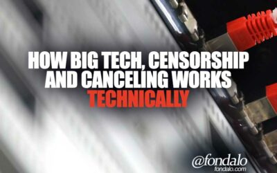 Understanding Big Tech, Censorship And Canceling